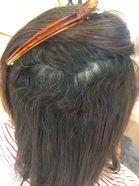 今まで縮毛矯正を繰り返している髪にケアルーガ縮毛矯正(魔法のストレート)を施術してみた